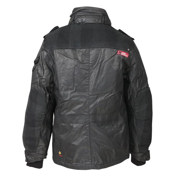 Pánská zimní bunda khujo, černá, 979-6036 - 26