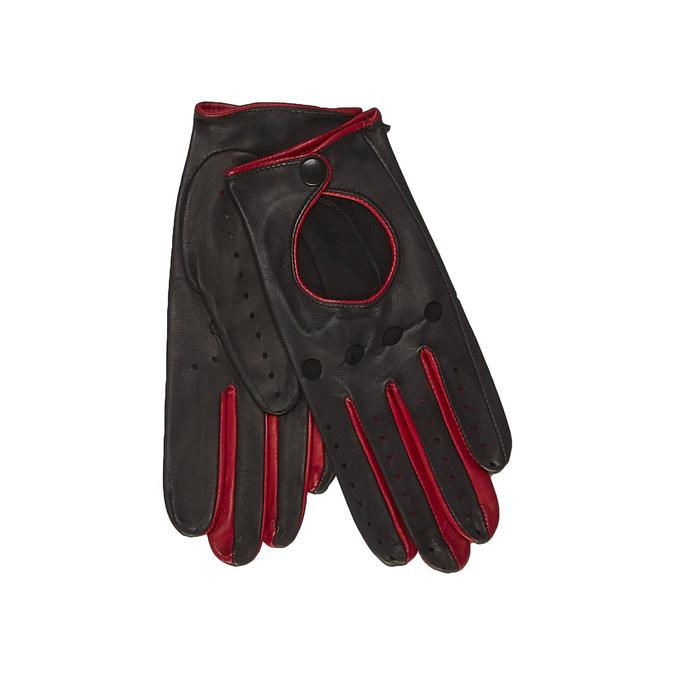 Kožené rukavice junek, červená, 904-5002 - 13