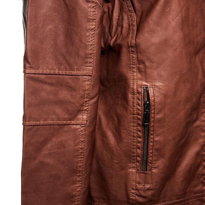 Pánská bunda bata, hnědá, 971-4174 - 16