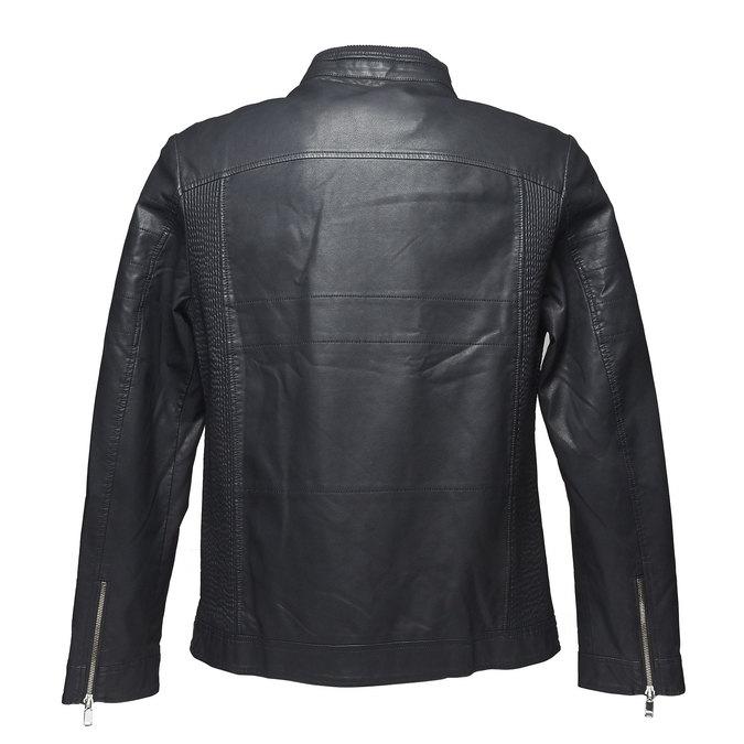 Pánská bunda bata, černá, 971-6165 - 26