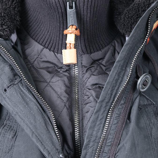 Dámská zimní bunda ve stylu Parky khujo, černá, 979-6014 - 16