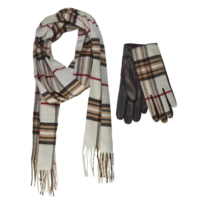 gloves and scarf set junek, bílá, 920-1004 - 13