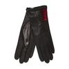 Dámské kožené rukavice junek, černá, 924-6016 - 13