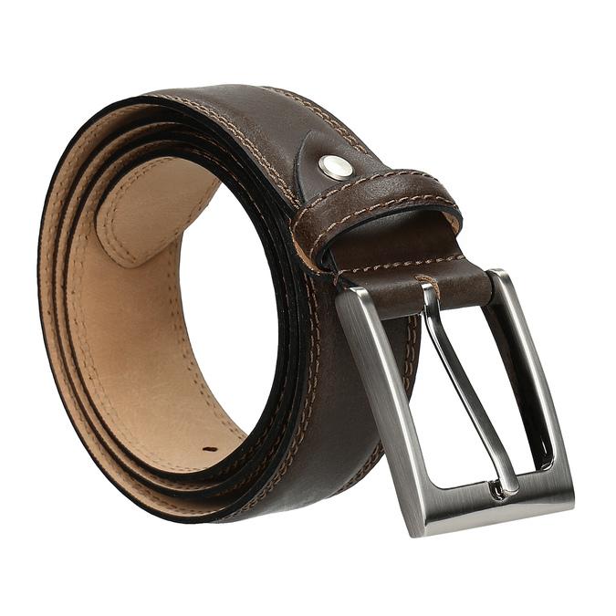 Pánský pásek bata, hnědá, 954-4828 - 13