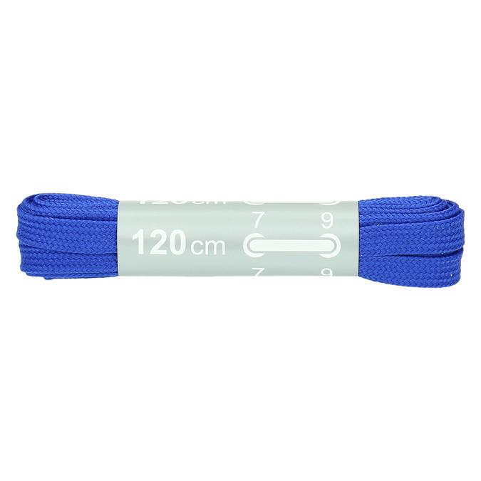Barevné tkaničky bata, modrá, 999-9266 - 13