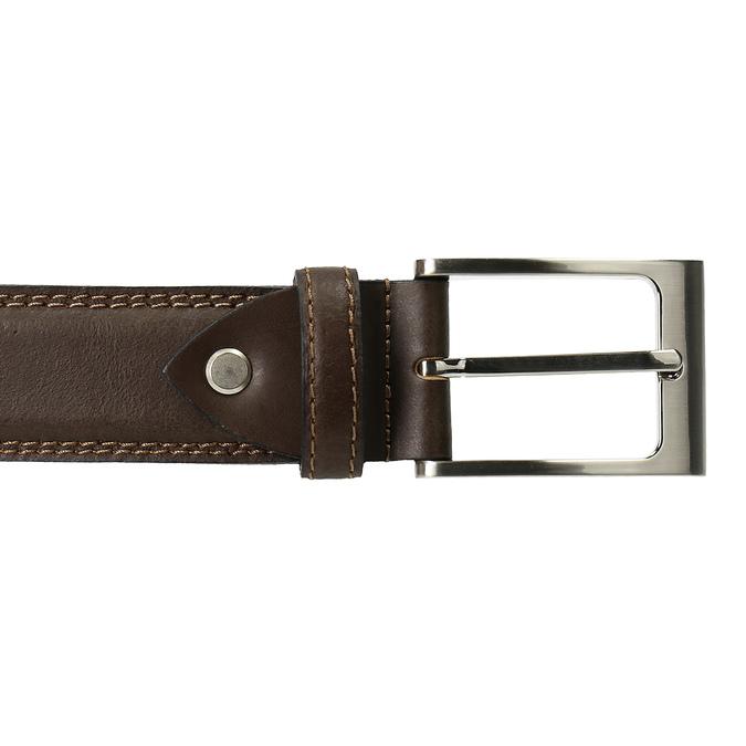 Pánský pásek bata, hnědá, 954-4828 - 26