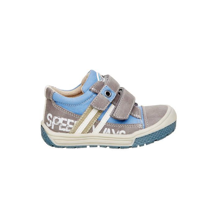 Dětské boty na suché zipy mini-b, šedá, 111-2104 - 26