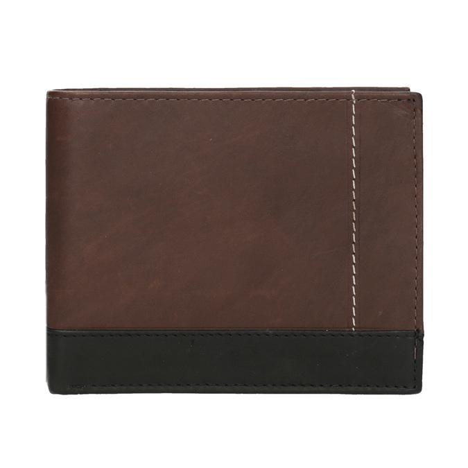 Pánská kožená peněženka bata, hnědá, 944-8149 - 26