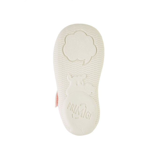 Dívčí boty s potiskem růží primigi, růžová, bílá, 129-0138 - 26