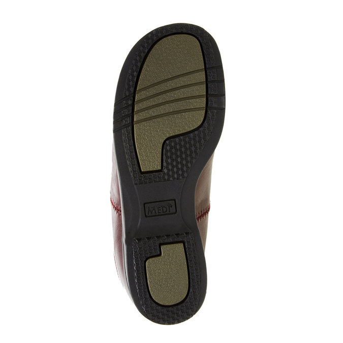 Dámská zdravotní obuv medi, červená, 534-5104 - 26