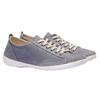 Komfortní kožené tenisky weinbrenner, šedá, 544-9151 - 26