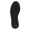 Kožené baleríny na výrazné podešvi bata, černá, 626-9606 - 26