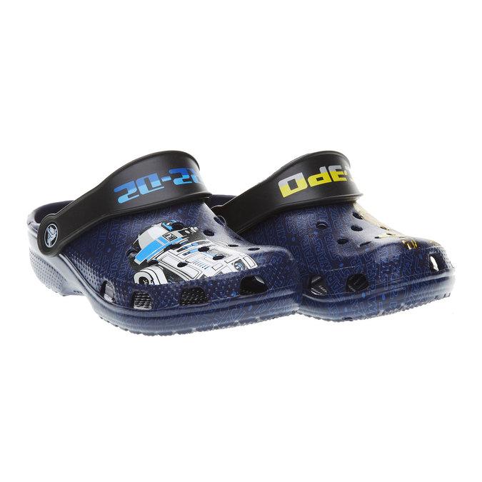 Dětské sandály crocs, černá, 372-6002 - 26