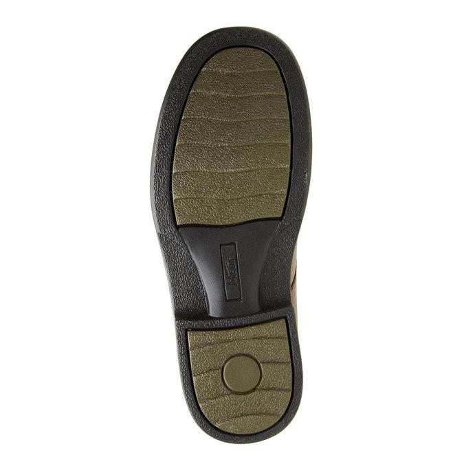 Pánská zdravotní obuv medi, červená, 824-5202 - 26