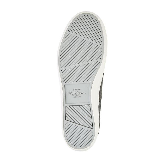 Pánské ležérní tenisky pepe-jeans, šedá, 849-2009 - 26