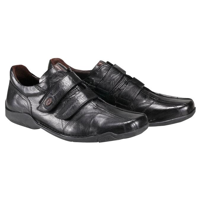 Kožená obuv fluchos, černá, 824-6778 - 26