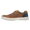 Pánské kožené tenisky bata, hnědá, 826-3651 - 26