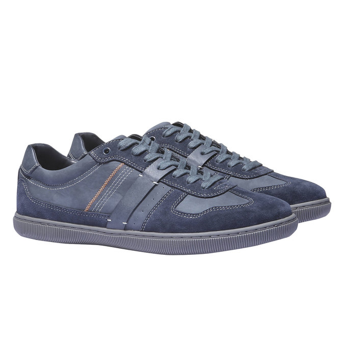 Pánské tenisky bata, modrá, 841-9426 - 26