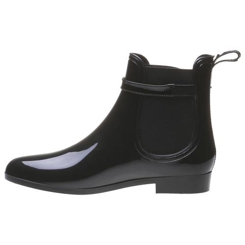Lakované boty do deště Iris bata, černá, 592-6779 - 15