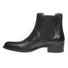 Kožená Chelsea obuv bata, černá, 594-6448 - 15