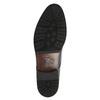 Kožené polobotky v Derby střihu bata, černá, 824-6676 - 26