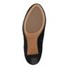 Kotníčkové kozačky z broušené kůže clarks, černá, 793-6001 - 26