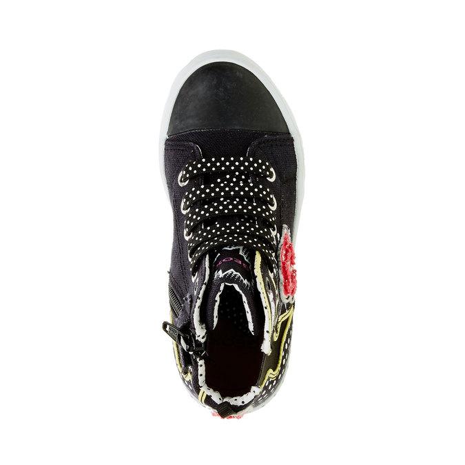 Dětské kotníčkové tenisky geox, černá, 329-6102 - 19