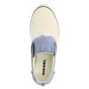 Dámské Slip on v džínovém stylu diesel, bílá, 589-1367 - 19