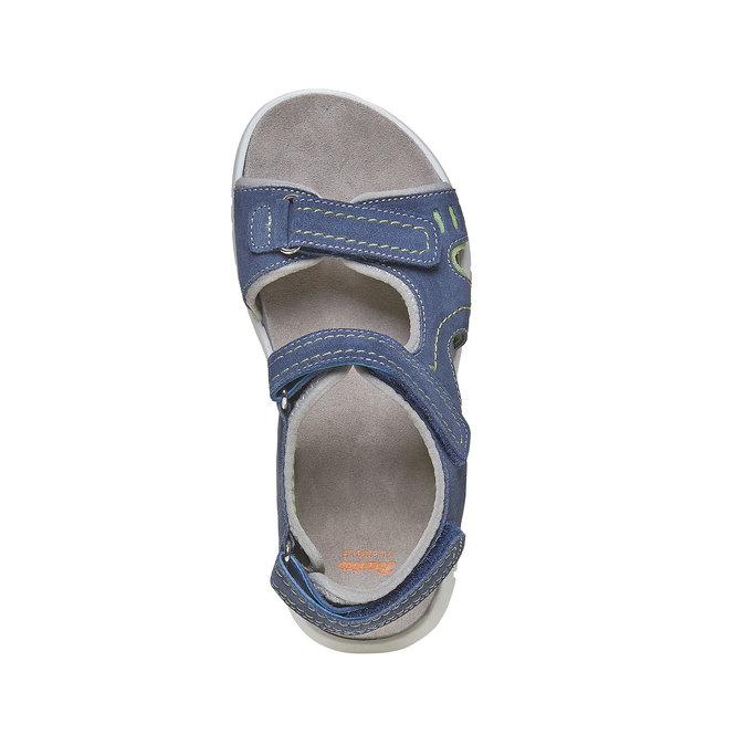 Dětské sandály flexible, modrá, 363-9188 - 19
