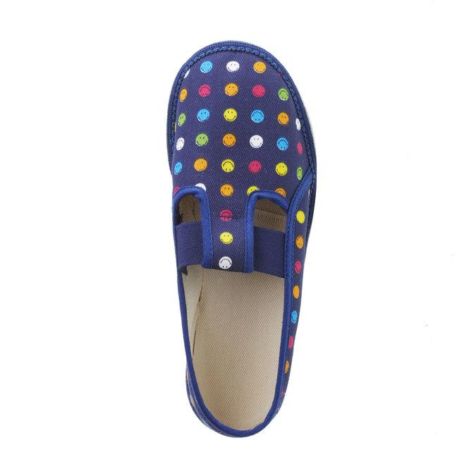 Dětské pantofle bata, modrá, 379-5012 - 19