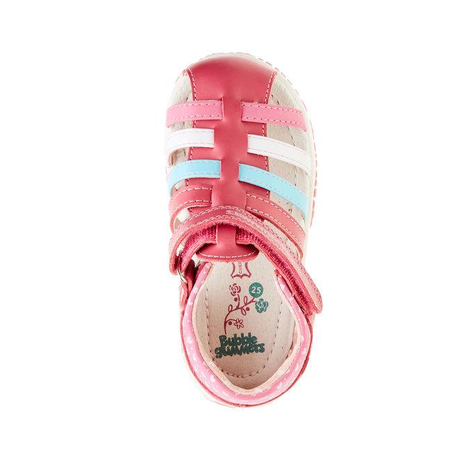 Dětská obuv s uzavřenou patou bubblegummer, růžová, 124-5142 - 19