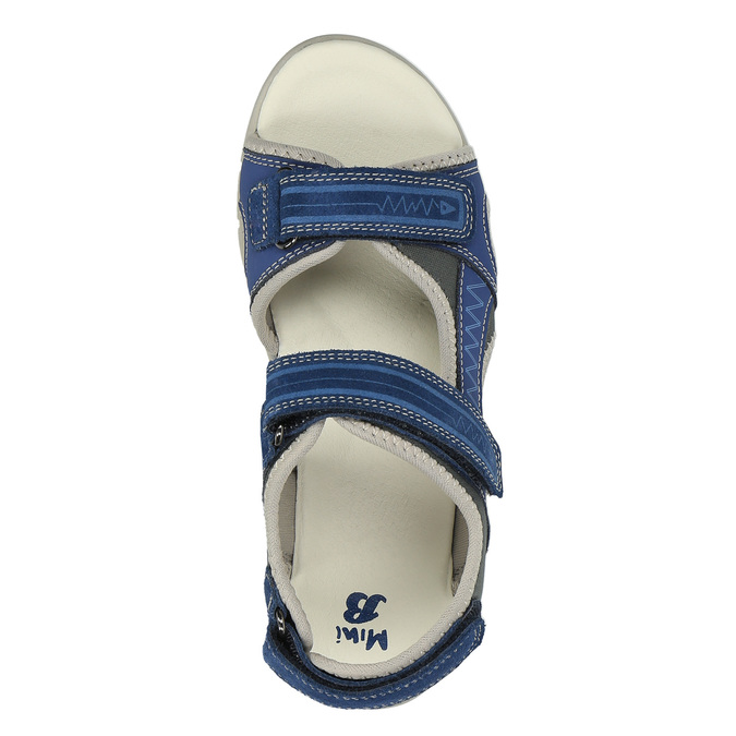 Dětské sandály mini-b, modrá, 363-9182 - 19