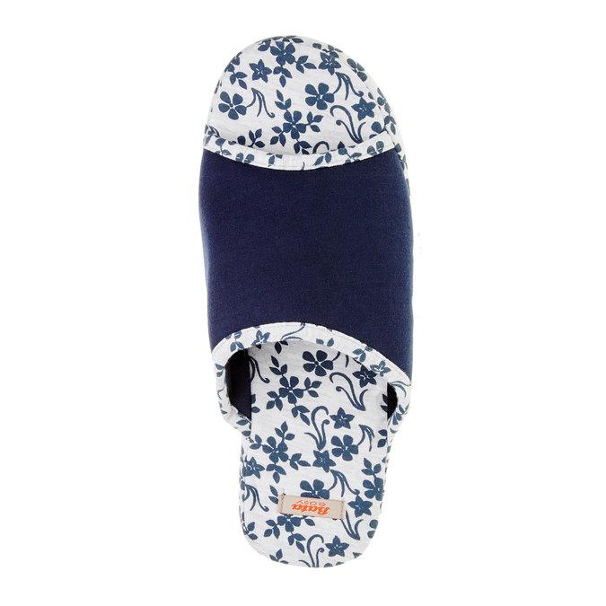 Dámská domácí obuv, modrá, 579-9246 - 19