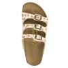 Dámské nazouváky na korkové podešvi papillio, bílá, 561-1001 - 19