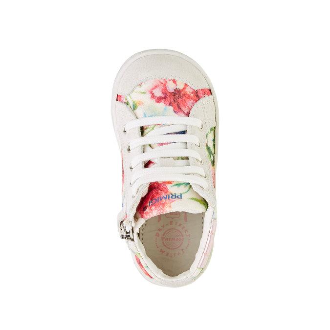 Dětské kotníčkové tenisky s květinovým potiskem primigi, růžová, bílá, 129-1137 - 19