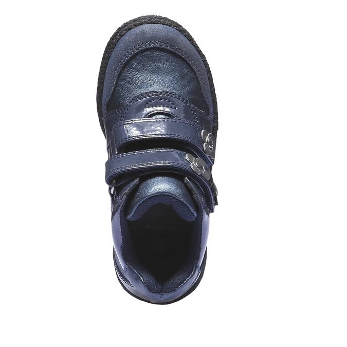 Barevné tenisky mini-b, modrá, 221-9141 - 19