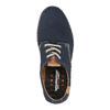 Ležérní kožené polobotky weinbrenner, modrá, 526-9606 - 19