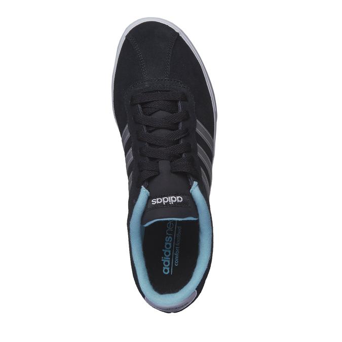 Ležérní semišové tenisky adidas, černá, 503-6685 - 19