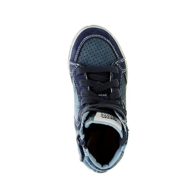 Dětské kotníčkové tenisky geox, modrá, 319-9104 - 19