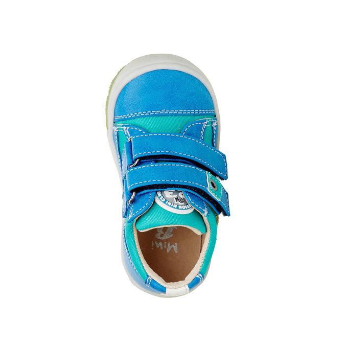 Dětské boty na suché zipy mini-b, modrá, 111-9104 - 19