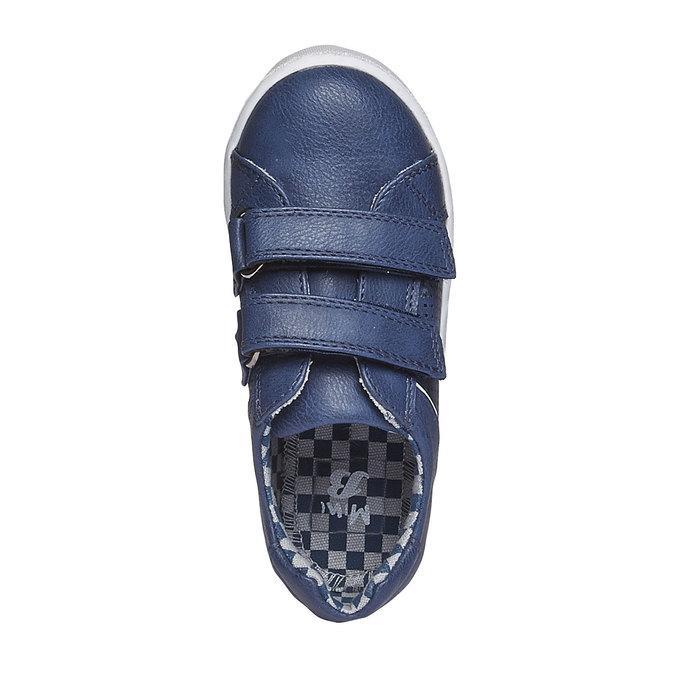 Dětské tenisky na suché zipy mini-b, modrá, 211-9151 - 19