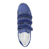 Kožené tenisky s puntíky weinbrenner, modrá, 526-9300 - 19