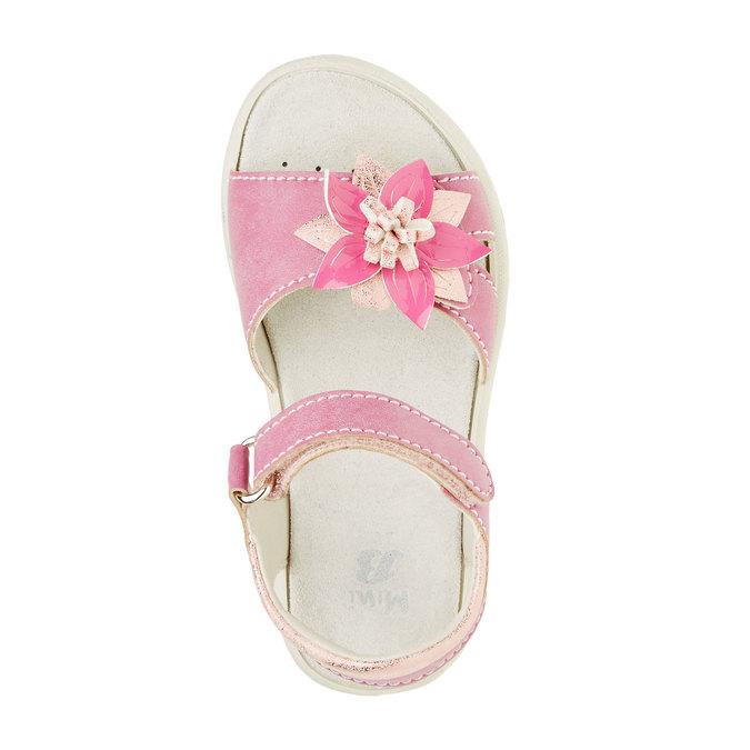 Dětské sandály mini-b, růžová, 361-5119 - 19