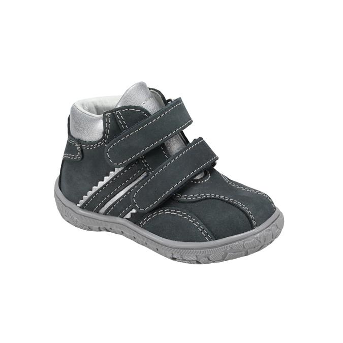 Dětské tenisky na suchý zip bata, modrá, 116-9129 - 13