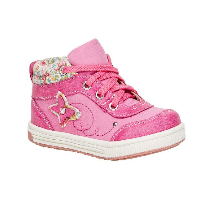 Dětské kotníčkové boty mini-b, růžová, 121-5100 - 13