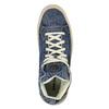 Kotníčkové denimové tenisky diesel, modrá, 889-9196 - 19