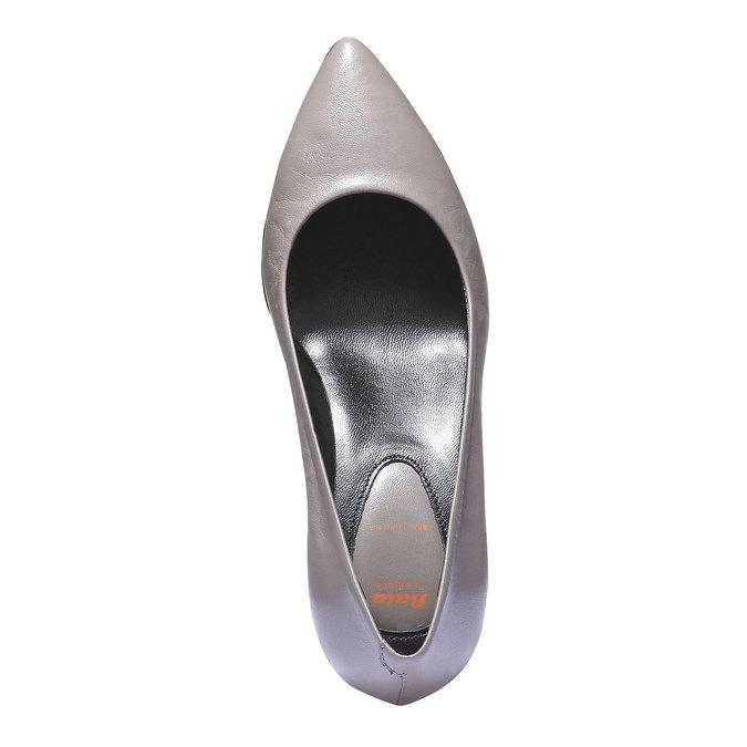 Lodičky se špičkou flexible, šedá, 624-8221 - 19