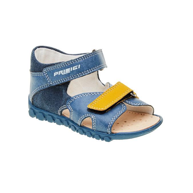 Dětské sandály na suché zipy primigi, modrá, 161-9114 - 13