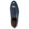 Modré kožené polobotky conhpol, modrá, 824-9733 - 19