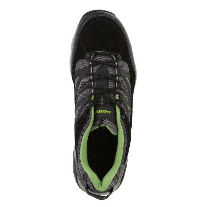 Kožené sportovní tenisky power, černá, 803-6284 - 19